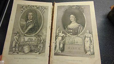 1791 The History Of England From The Revolution Smollett Illustrated With Plates