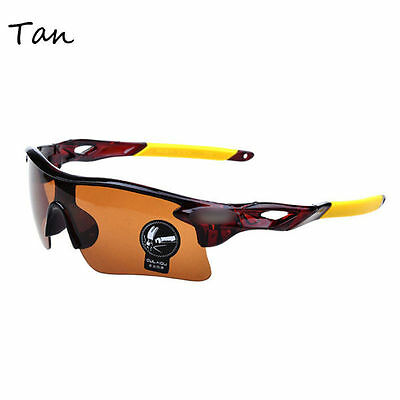 Men's New Sunglasses Driving Cycling Glasses Outdoor Sports Eyewear Glasses e4