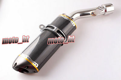 New Carbon Fibre & Steel Exhaust Muffler Silencer For Yamaha FZ1 1000 2006-2011