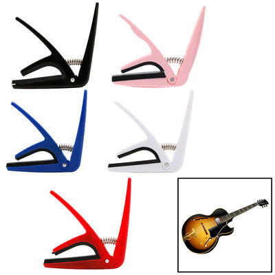 Hot Durable Ukulele Tune Quick Change Capo Key Clamp High Quality