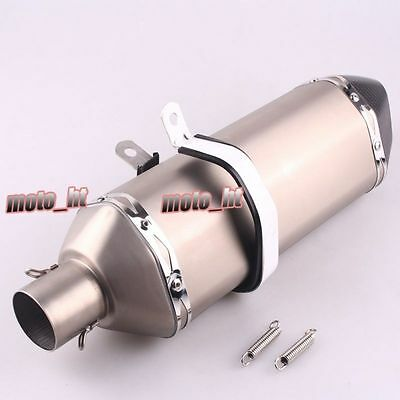 Universal Slip On Exhaust Muffler Sliencer For Honda Yamaha Suzuki Kawasaki ht