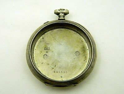 IWC SILVER CASE for pocket watch vintage