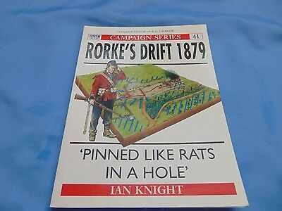 Osprey Campaign Series No 41 Rorke's Drift Very Good Condition.