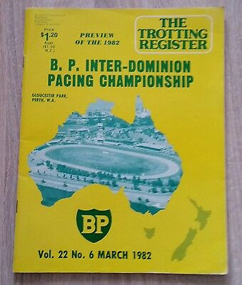 The Trotting Register . Preview Of The B.p Inter Dominion 1982
