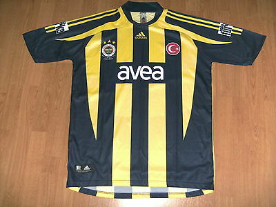 Fenerbahce home shirt, large, excellent condition - UK FREEPOST!