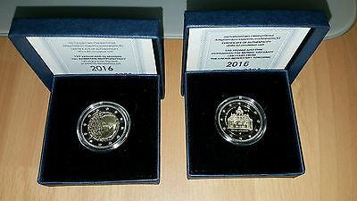 2*2 euros BE/PP/PROOF GRECE 2016 1.500 exemplaires