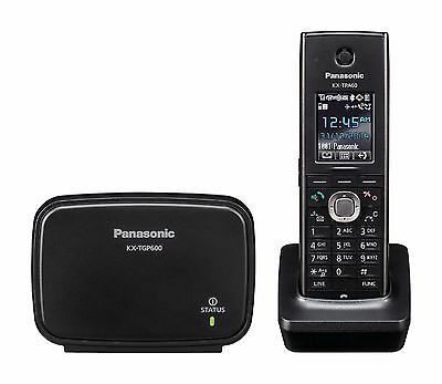 Panasonic KX-TGP600 VoIP SIP DECT VoIP Cordless Phone System with 1 Handset