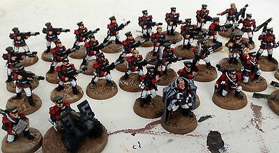 40K Imperial Guard Astra Militarum 32 x Mordian Iron Guard