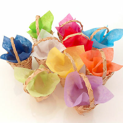CHOOSE Tiny Basket Wedding favour box green weddings party table decoration