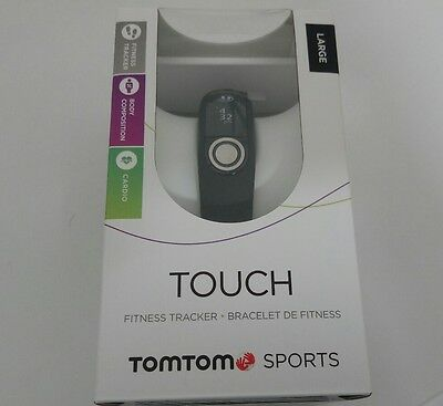 Tom Tom TOUCH BRACCIALETTO FITNESS  SPORT Large black nuovo