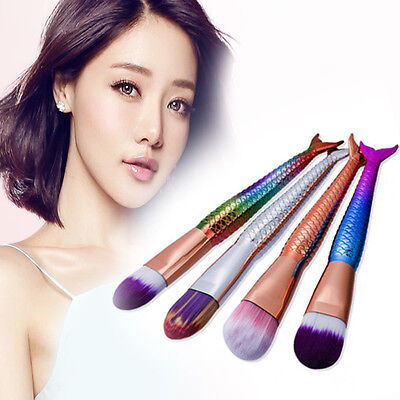 Mermaid Eyeshadow Brush Make Up Brushes Pro Face Powder Foundation Tool