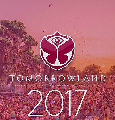 Tomorrowland 2017 Weekend 1 Full Madness Magnificent Greens Dreamville Ticket NR