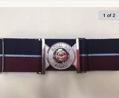 RAF Stable Belt  Quality Metal Buckle Strong Weave Fabric