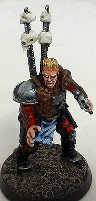 Painted 54mm GW 40k Inquisitor Damian Bloodhound model