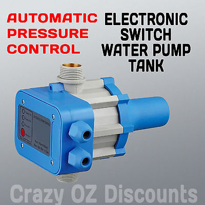 Water Pump Pressure Control Electronic Switch Pump Automatic Controller Tank New