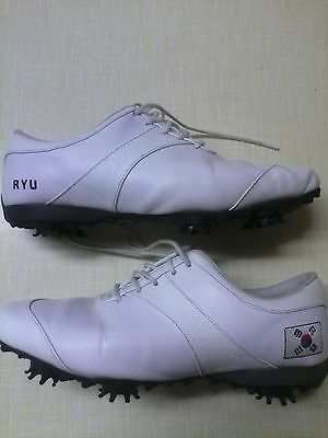 A Special Pair Of Ladies Golf Shoes Worn By Us Ladies Open Winner So-Yeon-Ryu