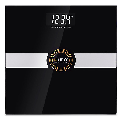 Digital Bathroom Scale Body Fat Hydration Muscle Bone Mass + Daily Calories New
