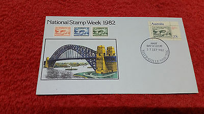 National Stamp Week 1982 First Day Cover