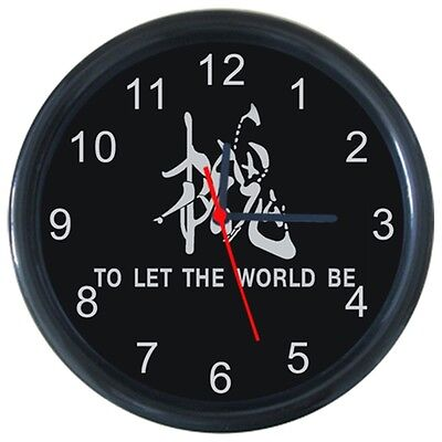 Metal Gear To Let The World Be Anime Cartoon Round Wall Clock