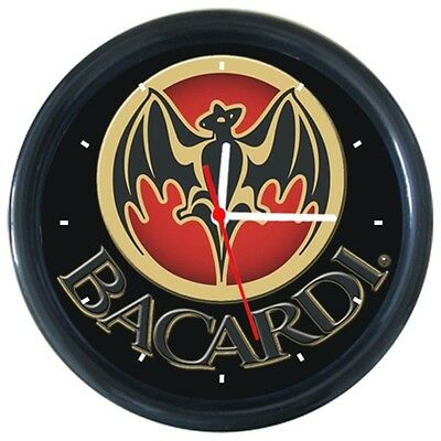 Hot Sale Cool Drink Beverage Beer Bacardi Sign Round Wall Clock New