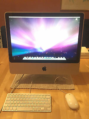 iMac 20-inch Mid 2007 - HUGE 1TB UPGRADED - 2 Ghz Intel Core 2 Duo - 4 GB RAM