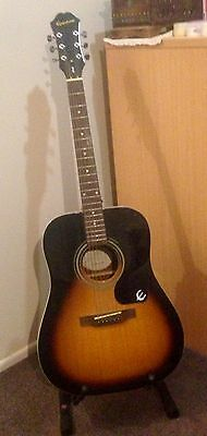 Epiphone Acoustic Guitar -- As New!