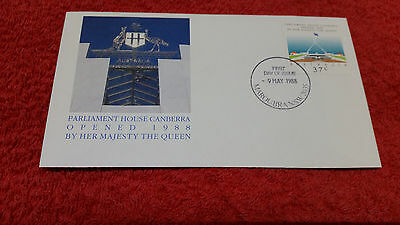 Parliament House Canberra Opened 1988 First Day Cover