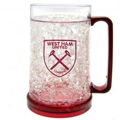 Official West Ham United FC  Plastic Freezer Tankard - Mug