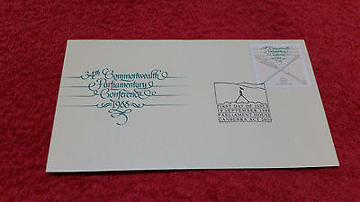 34th Commonwealth Parliament Conference 1988 First Day Cover