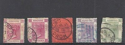 HONG KONG Queen Victoria collection (Used)