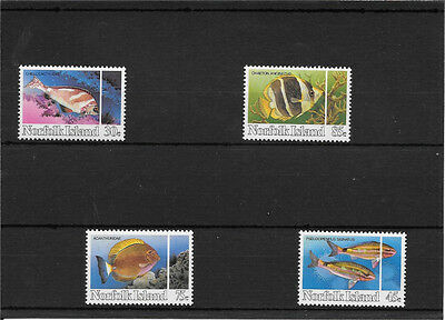 Norfolk Island Set Of Marine Pristine Umm  Stamps C658