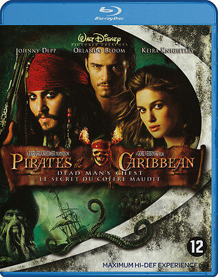 Pirates of the Caribbean - Dead Man's Chest - Blu Ray - Region A B C (2/4)