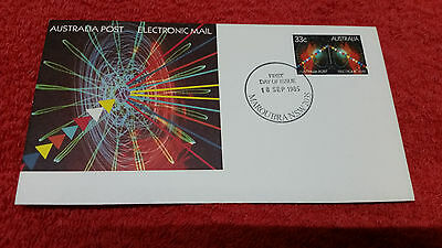 Australia Post Electronic Mail 1985 First Day Cover