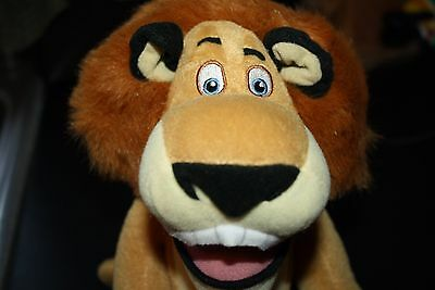 "Madagascar 2 Lion Plush Lovey Escape from Africa 11"" Tall   -QQ"