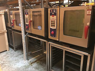 Rational Combi Oven - SCC61 Model electric 6 grid combi steam oven