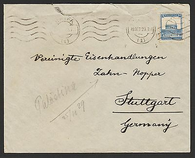 Palestine Stamps Covers Postmarks Franking Rare /1