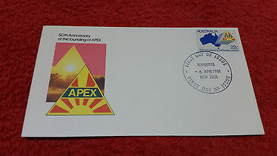 50th Anniversary of the founding of APEX 1981 First Day Cover