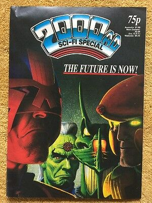 2000ad Sci-fi Special Number 10. July 1987