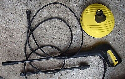 Karcher pressure washer lance (K2 to K4 series) and patio cleaner T50