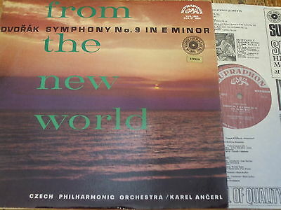 SUA ST 50054 Dvorak Symphony No. 9 'New World' / Ancerl