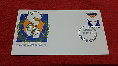 International Year of Peace 1986 First Day Cover