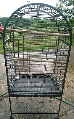 large bird cage for parrots and medium sized birds