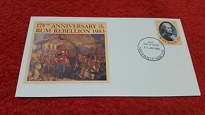 175th Anniversary of the Rum Rebellion 1983 First Day Cover