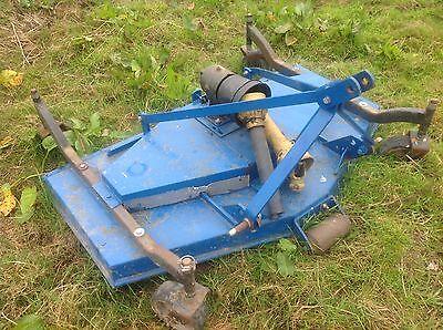 Compact tractor topper, finishing mower, tractor topper, compact mower.