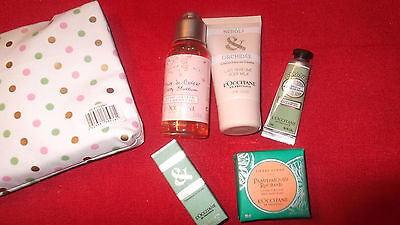 NEW in Zipped Travel Bag L'Occitane en Provence 5 items Superb  Gift?