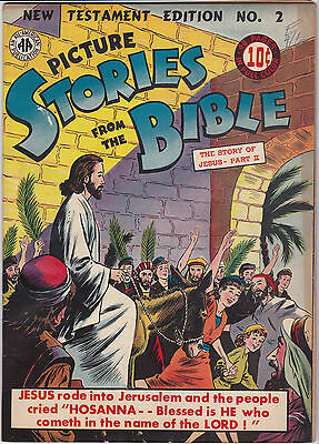 PICTURE STORIES FROM THE BIBLE #2 VG/VG+ ALL AMERICAN / EC Golden Age
