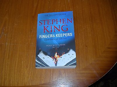 Finders Keepers by Stephen King - Paperback book
