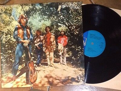 CREEDENCE CLEARWATER REVIVAL-green river '69 UK BLUE LIBERTY LP ORIG. PSYCH ROCK