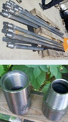 Borehole Water Well Drilling Rig Rods Tubes