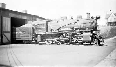 Negative - Pennsylvania Railroad 2-8-0 Type Steam Locomotive No. 2751